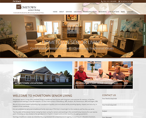 Hometown Senior Living Woodbury, Minnesota