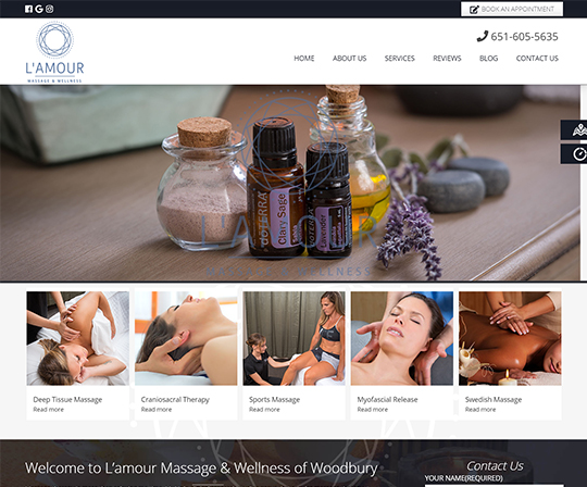 Lamour Massage & Wellness Woodbury Minnesota